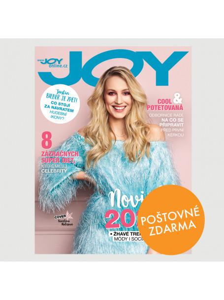 Aktuální vydání JOY 4/2020 + SLEVOVÉ KUPONY SHOPPING FEVER - POŠTOVNÉ ZDARMA (pouze pro ČR)