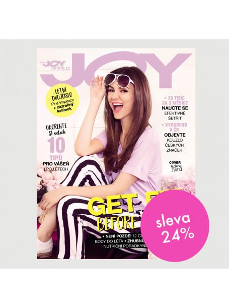 Půlroční tištěné předplatné Joy se slevou 24 %
