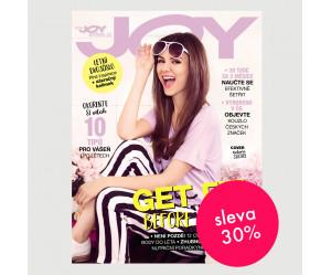 Roční tištěné předplatné Joy se slevou 30%